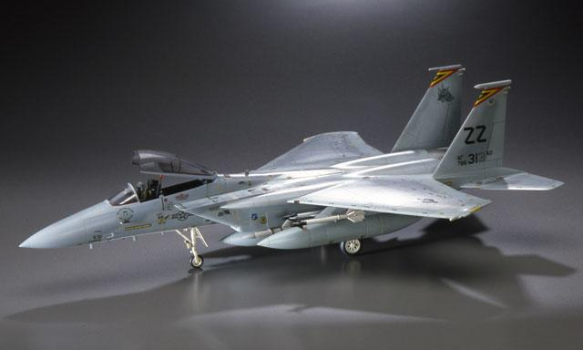 Hasegawa Aircraft 1/48 F15C Eagle Fighter Kit