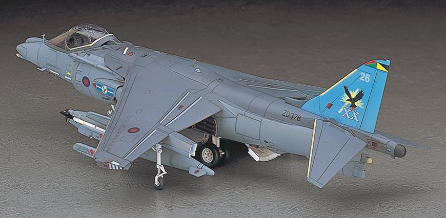 Hasegawa 1/48 Harrier GR Mk 7 RAF Attacker Kit