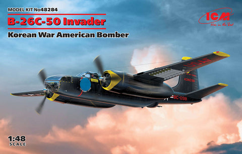 ICM 1/48 B26C50 Invader Korean War American Bomber Kit