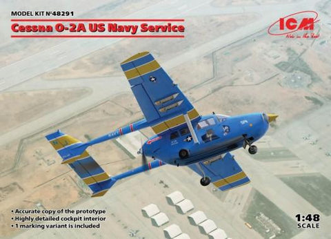 ICM Aircraft 1/48 Cessna O2A US Navy Service Aircraft Kit