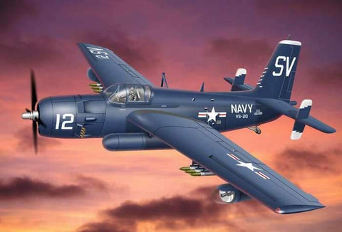 Ace 1/72 AF2S/3S Killer Guardian USN Bomber Kit