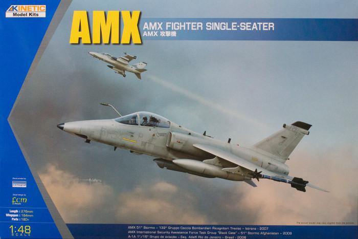 Kinetic Aircraft 1/48 AMX Ground Attack Aircraft Kit
