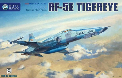 Kitty Hawk 1/32 RF5E Tiger Eye Recon Fighter (New Tool) Kit