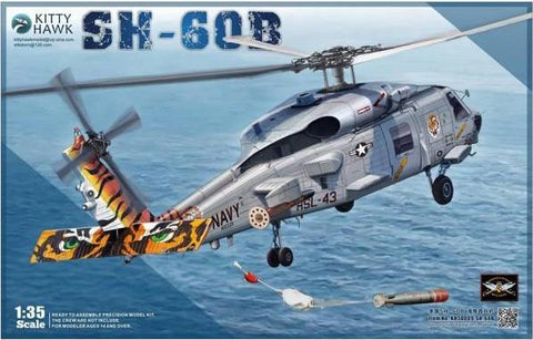 Kitty Hawk Aircraft 1/35 SH60B Seahawk Helicopter Kit