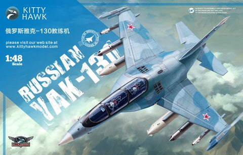 Kitty Hawk Aircraft 1/48 Russian Yak130 Trainer Aircraft Kit