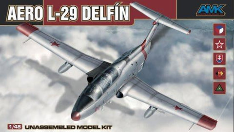 AMK Models Aircraft 1/48 Aero L29 Defin Aircraft Kit