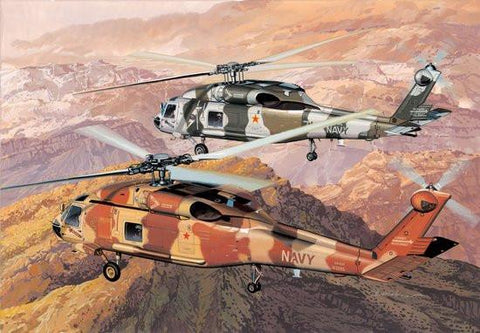 Dragon 1/144 SH60F NSAWC Top Gun Helicopter (2) Kits