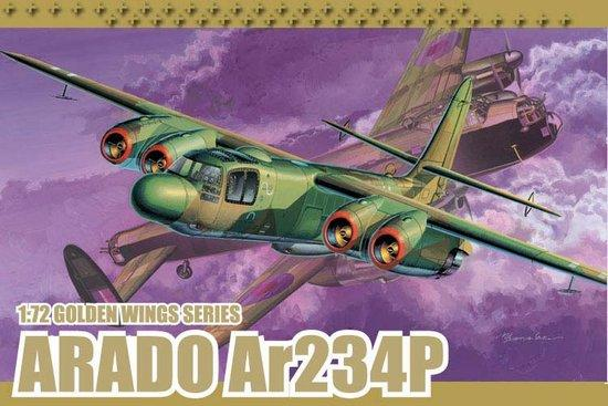 Dragon 1/72 Arado Ar234P Fighter Kit