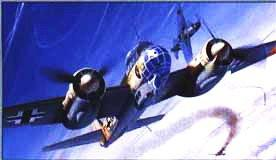 Dragon 1/48 Ju88C6 Zerstorer Military Aircraft (Re-Issue) Kit