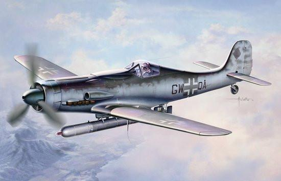 Dragon 1/48 Focke Wulf Ta152C1/R14 Fighter Kit