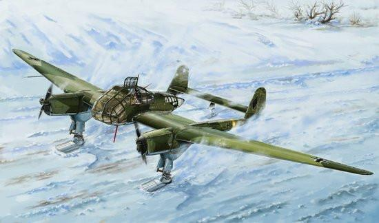 Lion Roar 1/48 WWII German Fw189A1 Aircraft w/Skis Kit