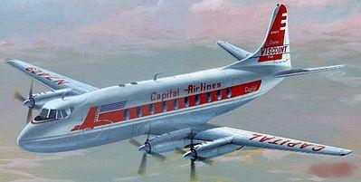 Mach-2 Aircraft 1/72 Vickers Viscount 700 Aircraft w/Capital Airlines & British European Airways Markings Kit