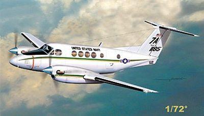 Mach-2 Aircraft 1/72 Beech 200/C12 King Air USN Twin Turbo-Prop Aircraft Kit