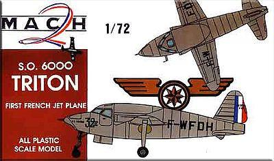 Mach-2 Aircraft 1/72 SO6000 Triton 1st French Jet Aircraft Kit