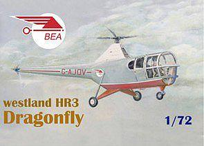 Mach-2 Aircraft 1/72 Westland HR3 Dragonfly BEA Helicopter Kit