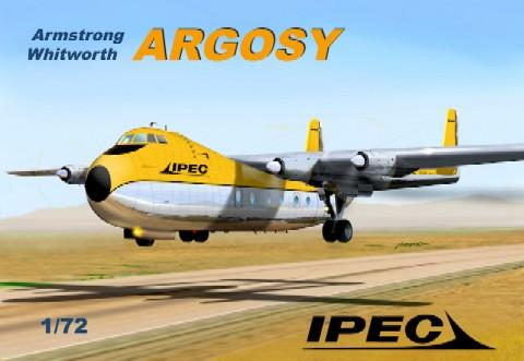 Mach-2 Aircraft 1/72 Armstrong Whitworth Argosy IPEC Australia Aircraft Kit