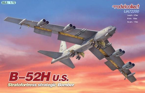 ModelCollect Aircraft 1/72 USAF B52H Stratofortress Strategic Bomber Kit