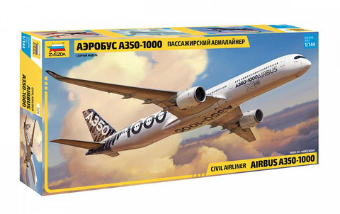 Zvezda 1/144 Airbus A350-1000 Civilian Airliner Kit