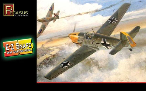 Pegasus Hobbies Aircraft 1/48 Bf109E4 Aircraft Snap Kit
