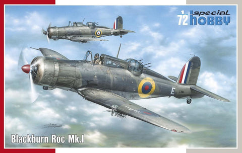 Special Hobby Aircraft 1/72 Blackburn Roc Mk I Fighter Kit