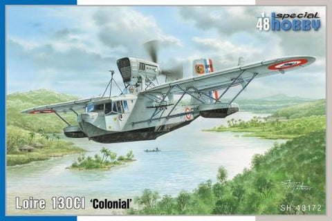 Special Hobby Aircraft 1/48 Loire 130CI Colonial Flying Boat Aircraft (New Tool) Kit