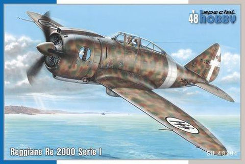 Special Hobby 1/48 Reggiane Re2000 I Serie Fighter Kit
