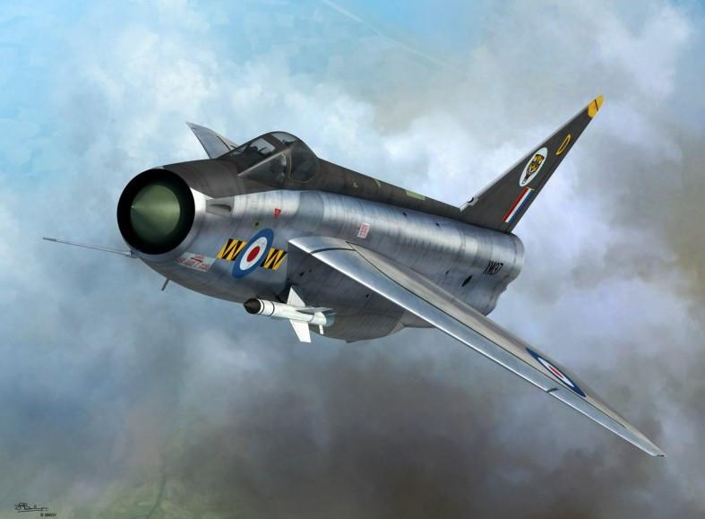 Sword Aircraft 1/72 F1/2 Lightning RAF Fighter Kit