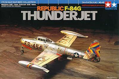 Tamiya Aircraft 1/72 Republic F-84G Thunderjet Kit