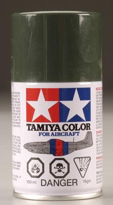 Tamiya AS Dark Green (German) Aircraft Lacquer Spray