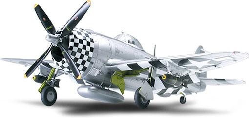 Tamiya Aircraft 1/48 P47D Bubbletop Fighter Kit