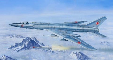 Trumpeter Aircraft 1/72 Tu128M Fiddler Russian Long-Range Supersonic Interceptor (New Tool) Kit