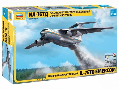 Zvezda Aircraft 1/144 Russian IL76TD Transport Kit