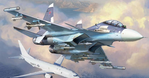 Zvezda Aircraft 1/72 Russian SU30SM Air Superiority Fighter Kit