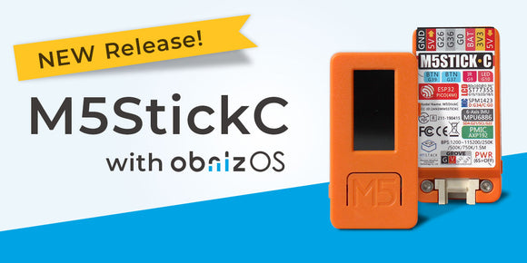 M5StickC with obnizOS Released