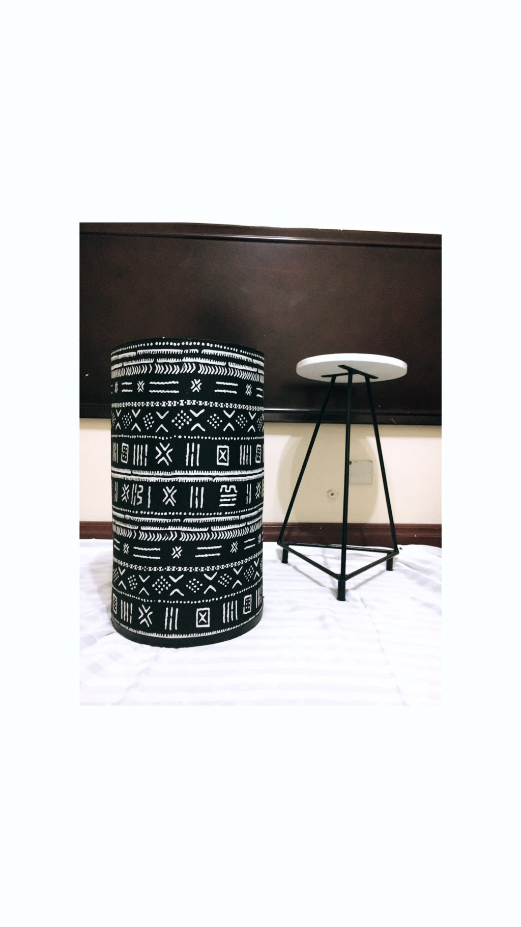 Symbols Laundry Basket