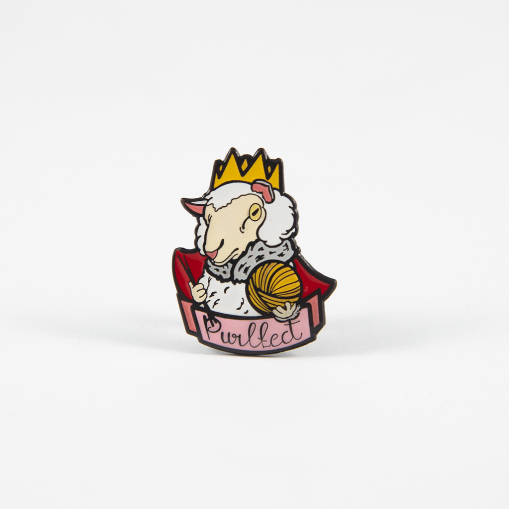 Enamel Pin - PURLFECT