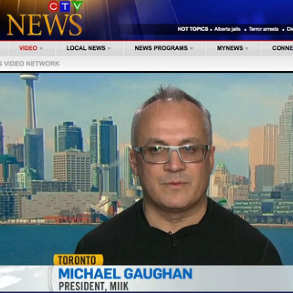 Michael Talks About Locally Made Fashion on CTV News