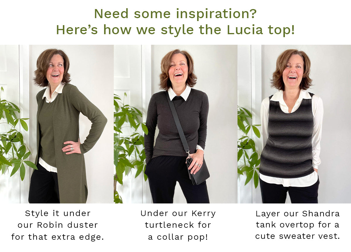 Donna Lucia styling tips