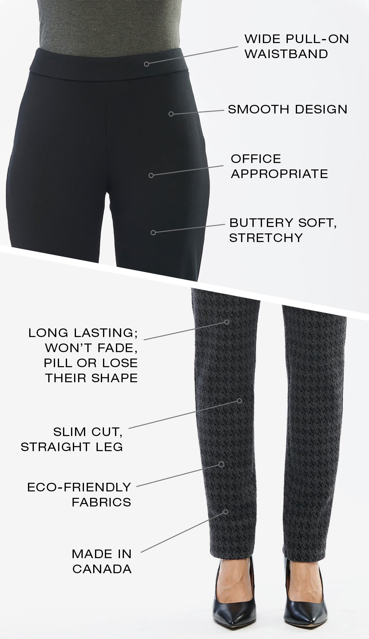 Features of the Avery pant