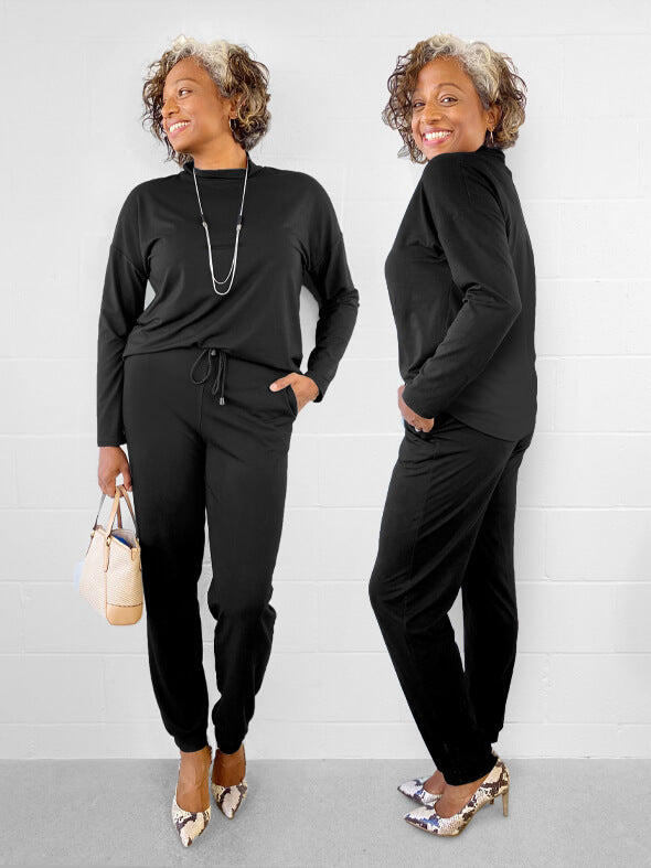 The Roxy jumpsuit in black