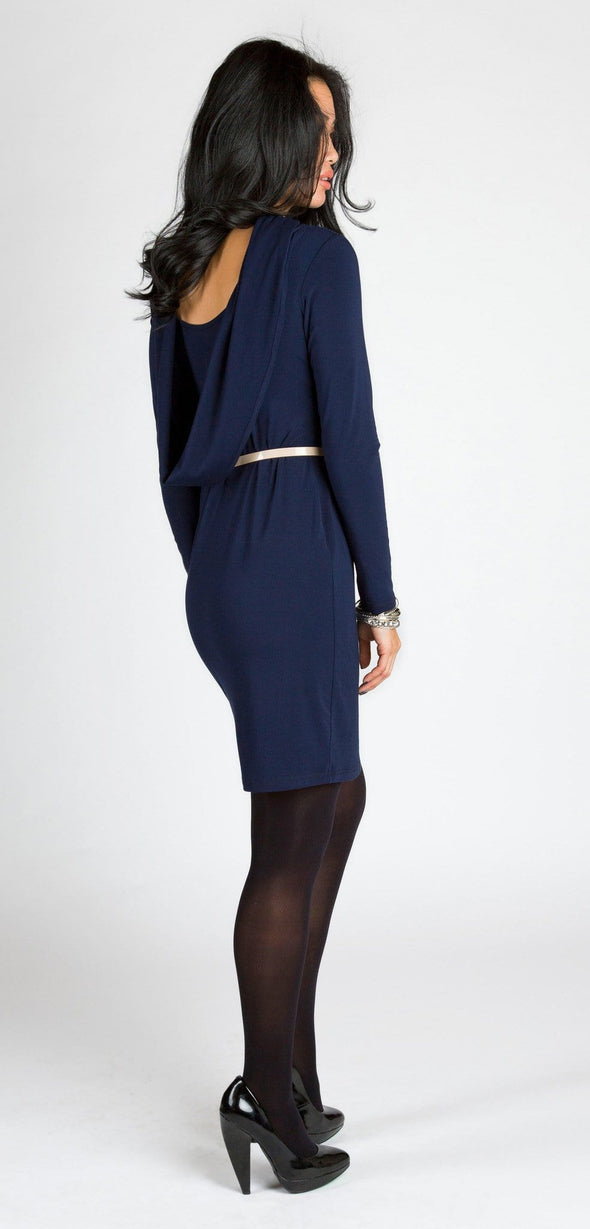 Adrienne reversible cowl dress - FINAL SALE