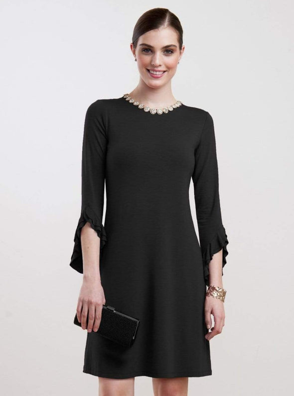 Ainslie ruffle sleeve dress