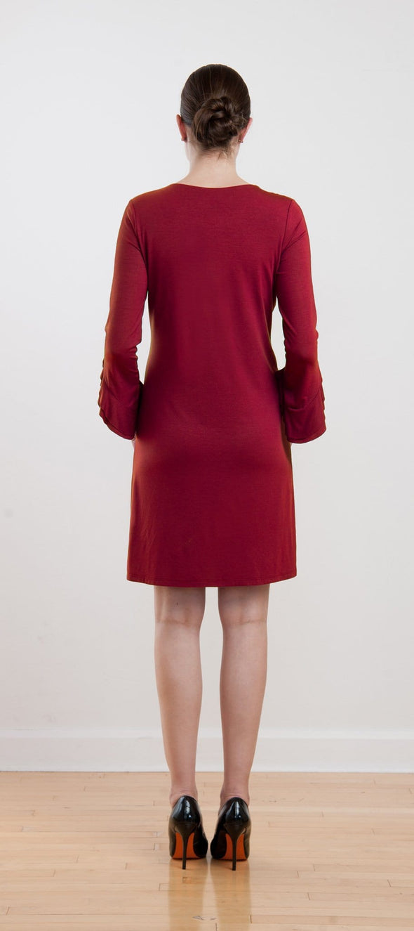 Ainslie ruffle sleeve dress - FINAL SALE