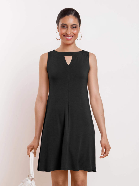Alyssa cutout swing dress - FINAL SALE