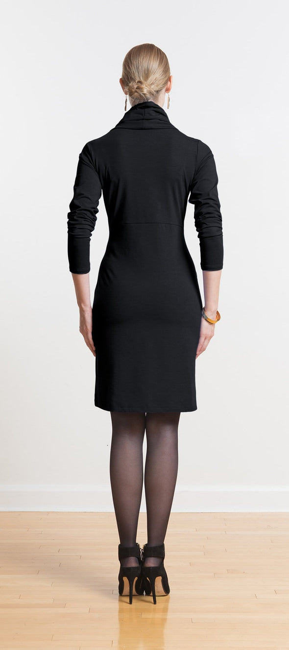 Amara cowl pocket dress
