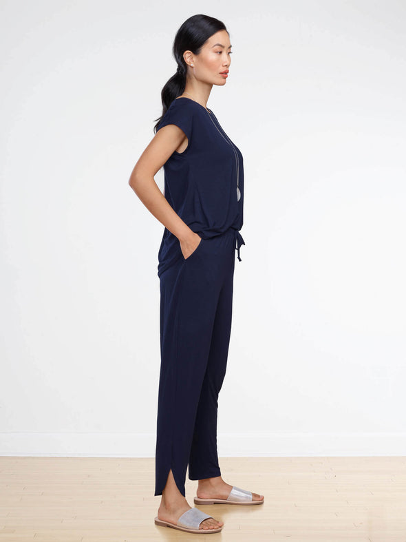 Andie open-back jumpsuit