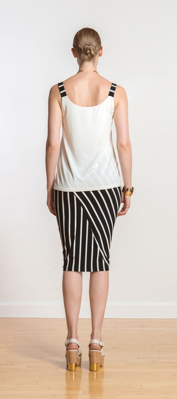 Andrea inverted-pleat tank