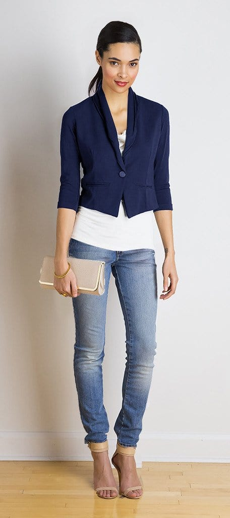 Bianca cropped jacket