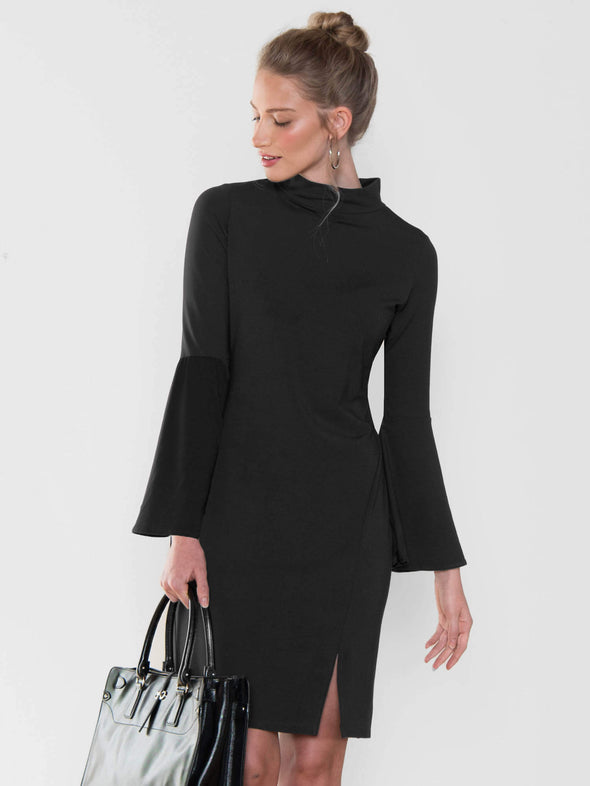 Brianne bell sleeve dress