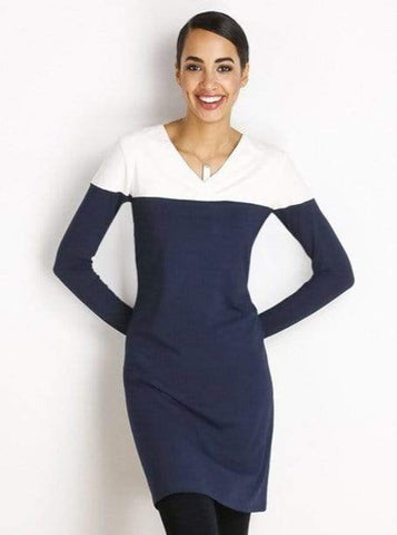 Bronwyn reversible two-tone dress